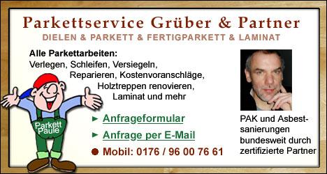 Dielen- und Parkettleger für Wuppertal
