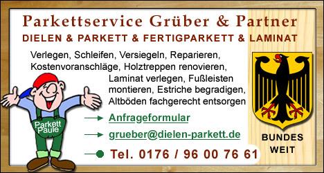 Neue Kunden für Parkettleger