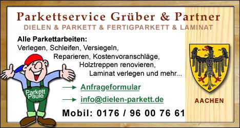Dielen- und Parkettleger für Aachen