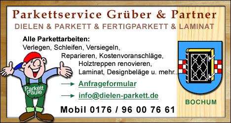 Dielen- und Parkettservice für Bochum