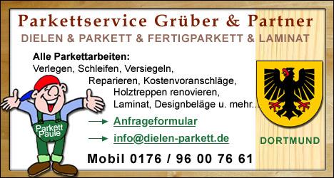 Dielen- und Parkettservice für Dortmund