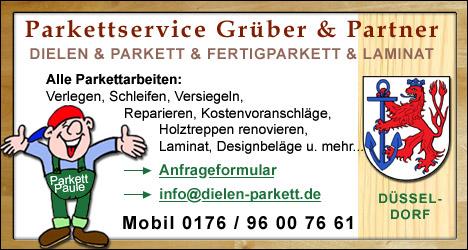 Dielen- und Parkettservice für Düsseldorf