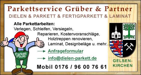 Parkett Gelsenkirchen dielen sanieren parkettböden versiegeln erneuern gelsenkirchen