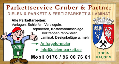 Dielen- und Parkettservice für Oberhausen