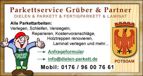 Parkettleger, Bodenleger Potsdam