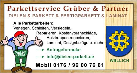 Dielen- und Parkettservice für Willich