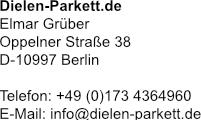Impressum - Dielen-Parkett.de