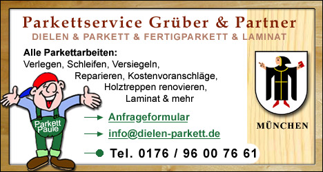Parkettleger, Bodenleger München
